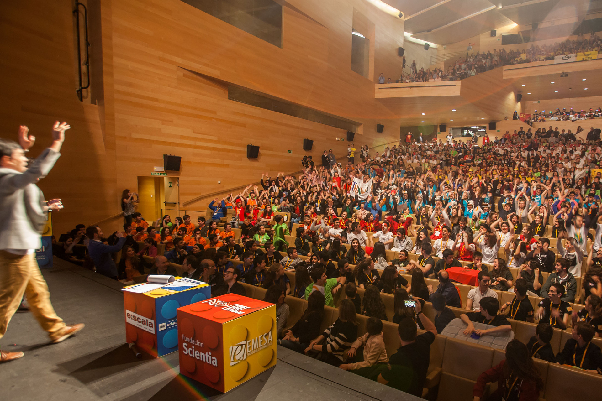 Patrocinador de la Gran Final FIRST LEGO League